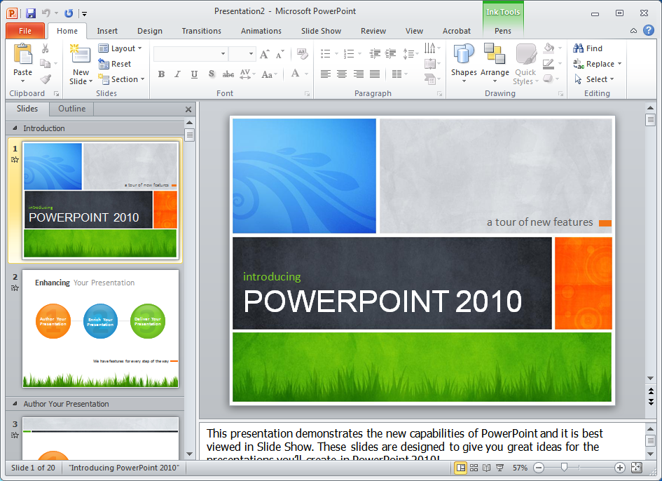 Ключ к microsoft powerpoint 2010